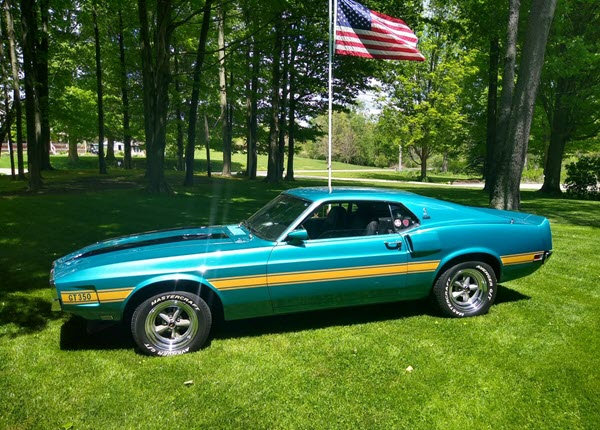 1970 Ford Shelby Mustang GT 350
