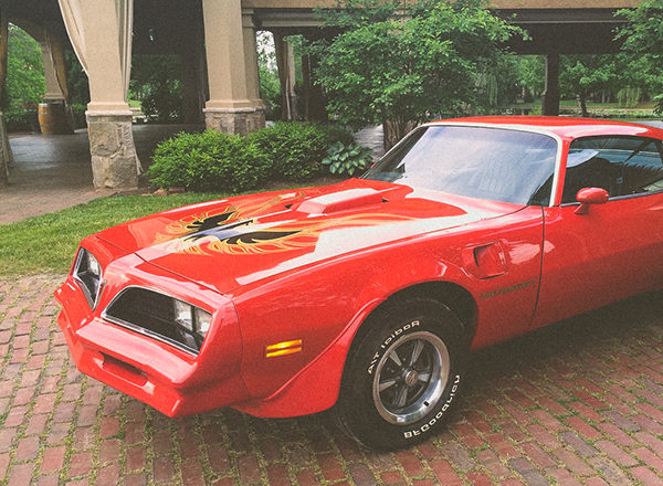 1978 pontiac trans am front side view