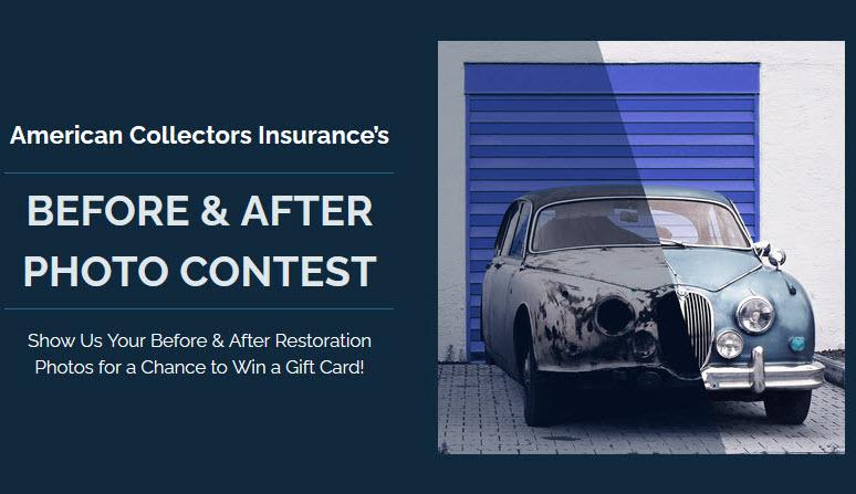Classic Car Restoration Photo Contest