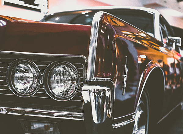 Classic Car Close Up Chrome