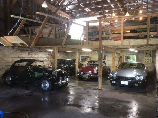 Collector Car Garage Ground Floor