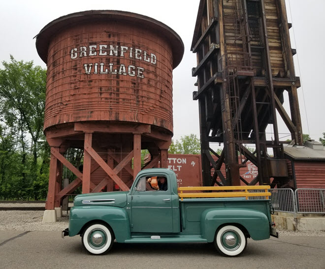 Green 1950 Pickup Collector Truck Insurance