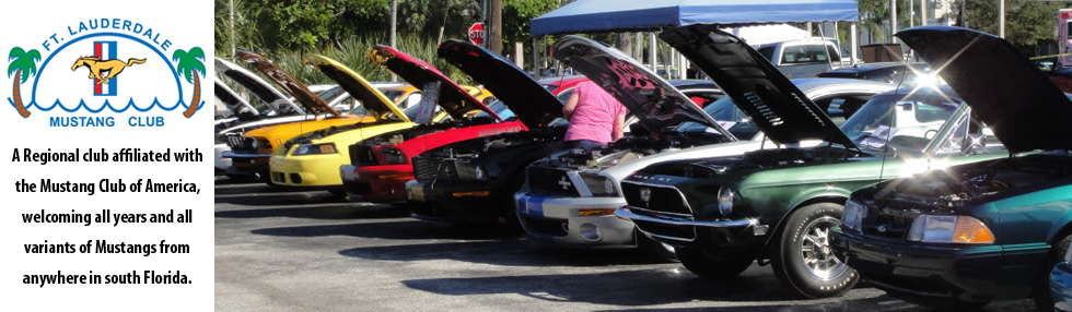 mustang club florida event