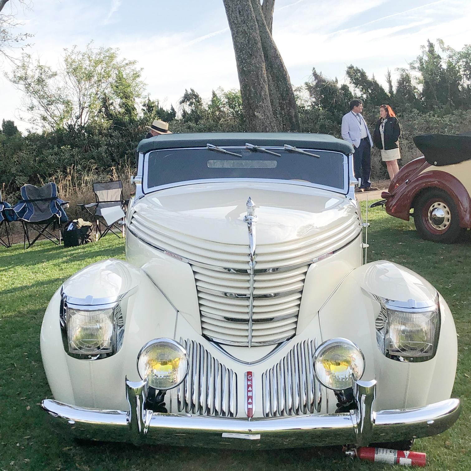 classic car at amelia island d'elegance car show