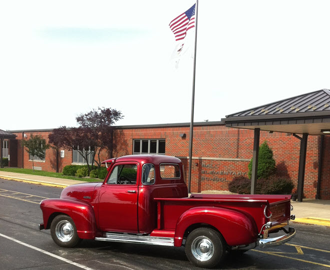 Red 1953 Pickup Truck Collector Insurance