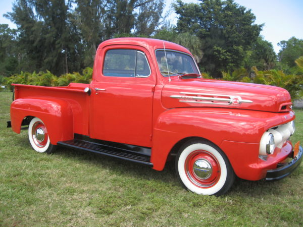 Red Classic Truck Insurance