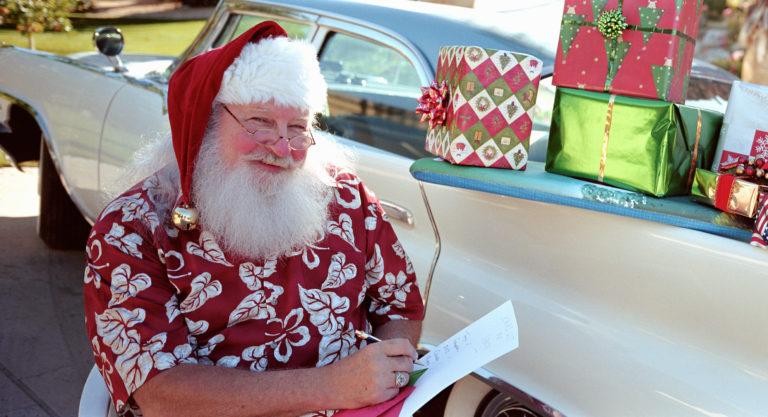 Santa Classic Car Enthusiast Gift Ideas
