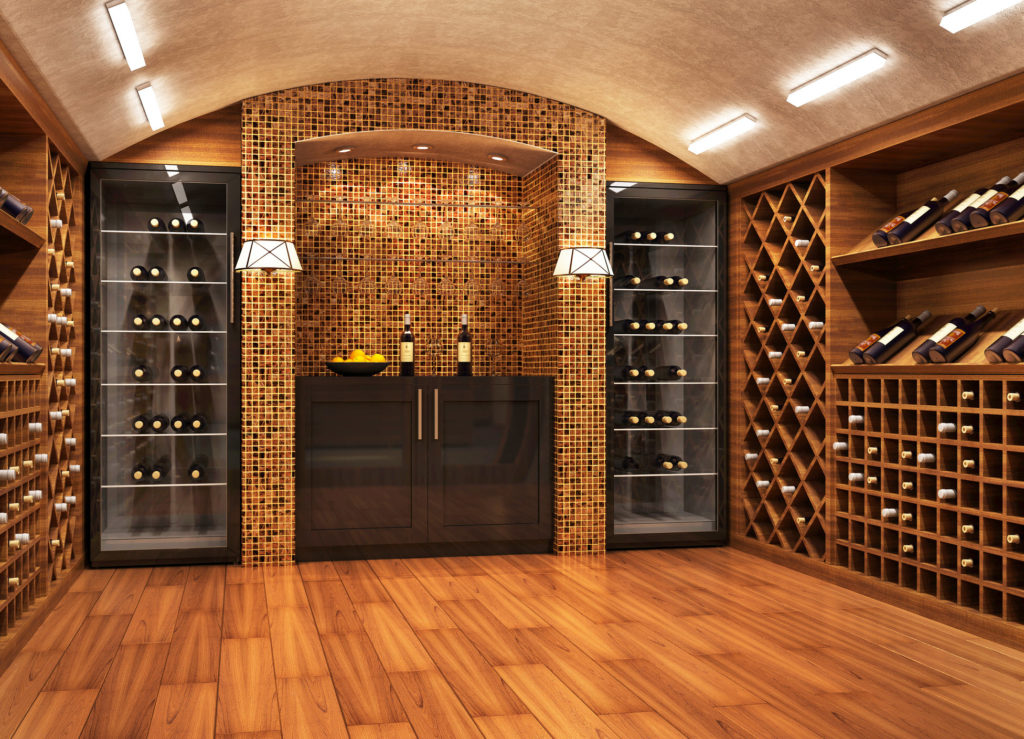 Wine Insurance Basement Cellar